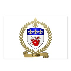 LOISIER Family Crest Postcards (Package of 8)