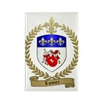LOISIER Family Crest Rectangle Magnet