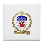 LOISIER Family Crest Tile Coaster