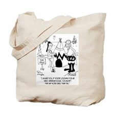 Early American House is a Tee Pee Tote Bag