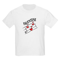 Valentine Love Notes Kids T-Shirt