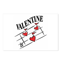 Valentine Love Notes Postcards (Package of 8)