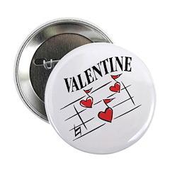Valentine Love Notes Button