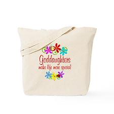 Special Goddaughter Tote Bag