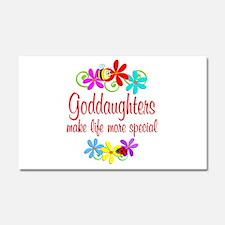 Special Goddaughter Car Magnet 20 x 12
