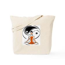 Yoga Ying Yang Tote Bag