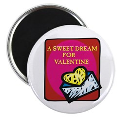 "Valentine Sweet Dream 2.25"" Magnet (10 pack)"