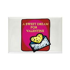 Valentine Sweet Dream Rectangle Magnet (10 pack)