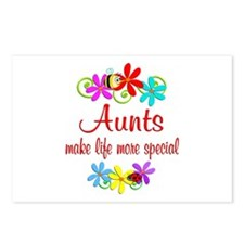 Special Aunt Postcards (Package of 8)