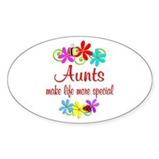 Special Aunt Decal