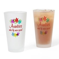 Special Auntie Drinking Glass