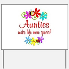 Special Auntie Yard Sign