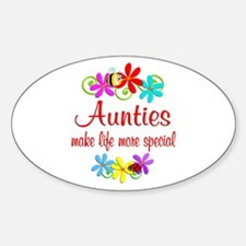 Special Auntie Decal