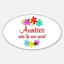Special Auntie Sticker (Oval)