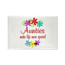 Special Auntie Rectangle Magnet