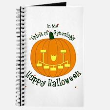 Genealogy Halloween Pumpkin Journal