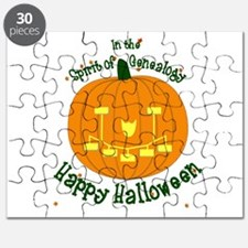 Genealogy Halloween Pumpkin Puzzle