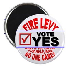 Fire Levy Vote Yes Magnet