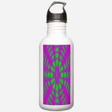 Abstract Neon Water Bottle