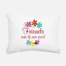 Special Friend Rectangular Canvas Pillow