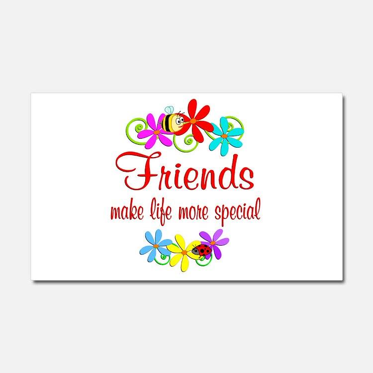 Special Friend Car Magnet 20 x 12