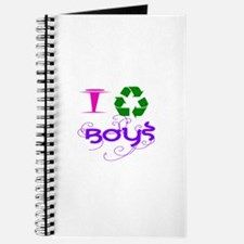 I Recycle Boys Journal