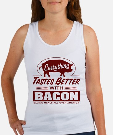 Everythings Better with Bacon Women's Tank Top