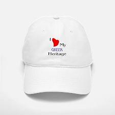 Greek Heritage Baseball Baseball Cap