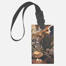 Aladdin and the Magic Lamp Luggage Tag