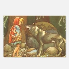 Vintage Little Red Riding Postcards (Package of 8)