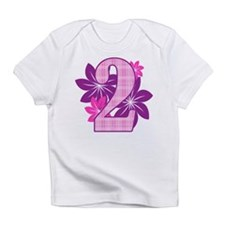 Birthday Flower Two Infant T-Shirt