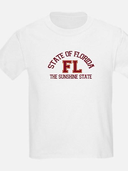 Florida - Varsity Design. T-Shirt
