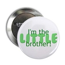 """Little Brother 2.25"""" Button"""