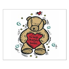 To My Honey Bear Posters