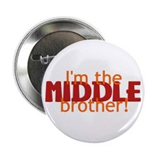 """Middle Brother 2.25"""" Button"""