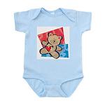 Love Bear with Heart Infant Bodysuit
