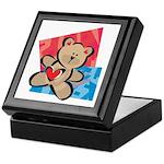 Love Bear with Heart Keepsake Box