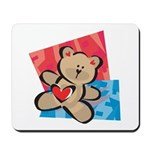 Love Bear with Heart Mousepad