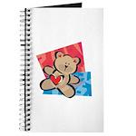 Love Bear with Heart Journal