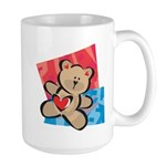 Love Bear with Heart Large Mug