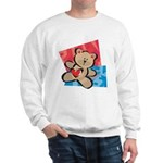 Love Bear with Heart Sweatshirt