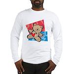 Love Bear with Heart Long Sleeve T-Shirt