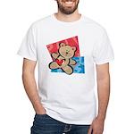 Love Bear with Heart White T-Shirt