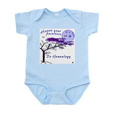 Haunt Your Ancestors Genealogy Infant Bodysuit