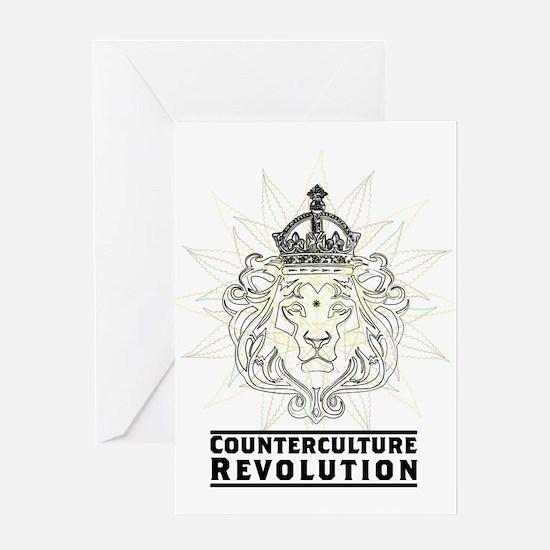 Counterculture Revolution4 Greeting Cards