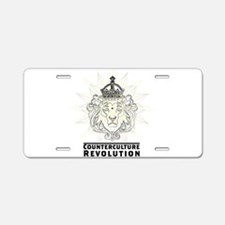Counterculture Revolution4 Aluminum License Plate