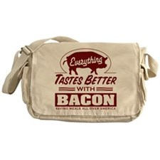 Everythings Better with Bacon Messenger Bag