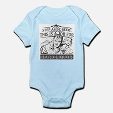 Step Aside Beer Infant Bodysuit