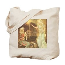 Vintage Cinderella Fairy Tale Tote Bag