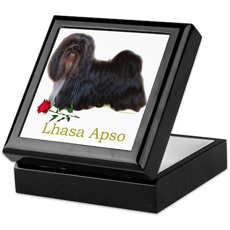 Lhasa Apso Heart Love Valentine Keepsake Box